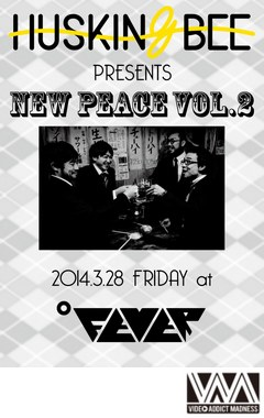 HUSKING BEE presents New Peace Vol.2/HUSKING BEE
