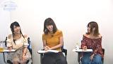 成瀬心美と波多野結衣の習❤CHINA中國語講座-東京校- 第4弾 その2